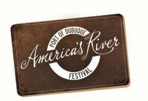 America's River Festival Logo