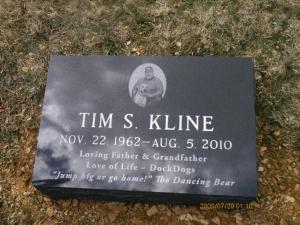 Tim Kline Headstone