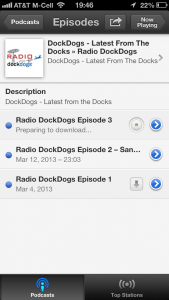 Subscribe to Radio DockDogs on iTunes