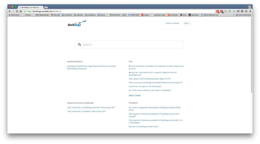 DockDogs Zendesk Support Suite