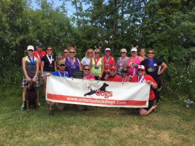 Ontario DockDogs Club at Regional Championships
