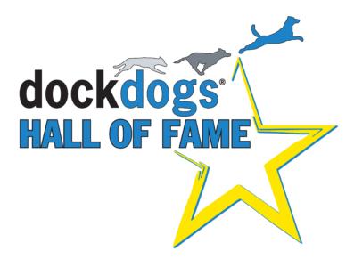 DockDogs Hall of Fame Logo